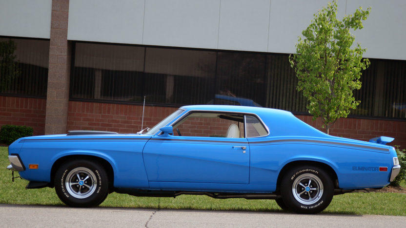 1970 Mercury Cougar Eliminator 351 CI, 4-Speed presented as lot F223 at Kissimmee, FL 2013 - image2