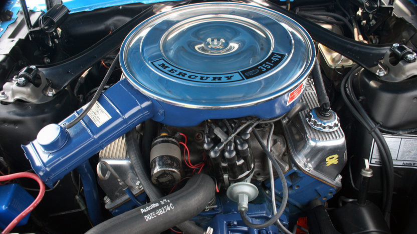 1970 Mercury Cougar Eliminator 351 CI, 4-Speed presented as lot F223 at Kissimmee, FL 2013 - image5