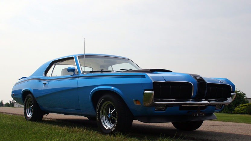 1970 Mercury Cougar Eliminator 351 CI, 4-Speed presented as lot F223 at Kissimmee, FL 2013 - image6