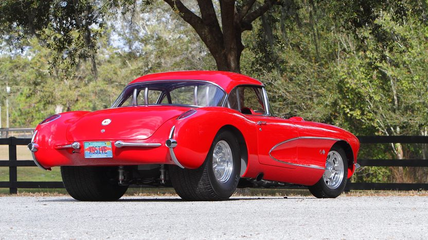 1956 Chevrolet Corvette Resto Mod Full Tube Chassis, 6-Speed presented as lot F231 at Kissimmee, FL 2013 - image3