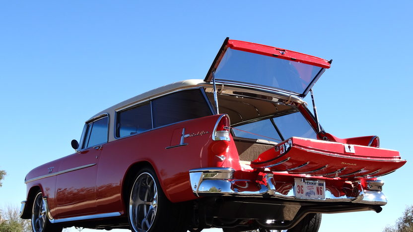 1955 Chevrolet Nomad Wagon LS6, 4-Link Rear, Mini Tubbed presented as lot F234 at Kissimmee, FL 2013 - image10
