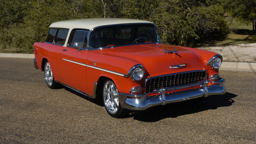 1955 Chevrolet Nomad Wagon LS6, 4-Link Rear, Mini Tubbed presented as lot F234 at Kissimmee, FL 2013 - image2