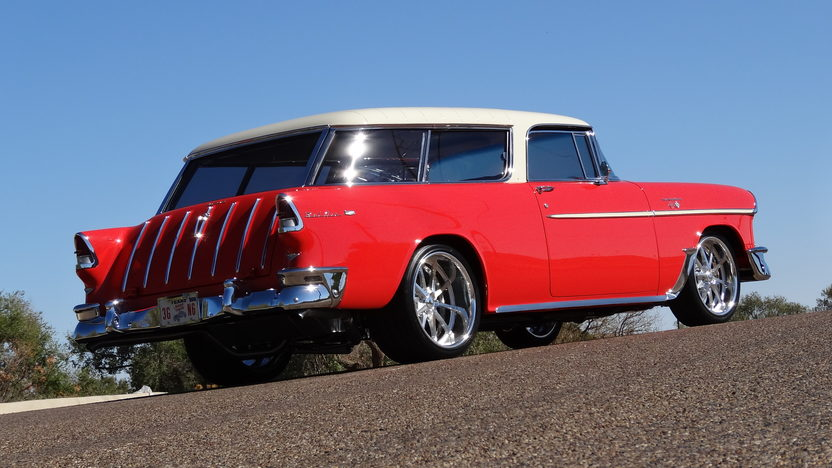 1955 Chevrolet Nomad Wagon LS6, 4-Link Rear, Mini Tubbed presented as lot F234 at Kissimmee, FL 2013 - image3