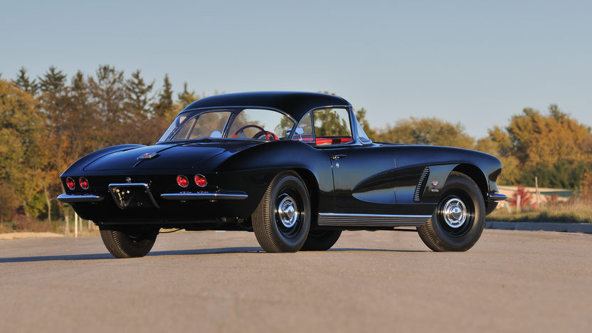 1962 Chevrolet Corvette Big Brake Tanker 327/360 HP, 24K Gold, Triple Crown presented as lot F245 at Kissimmee, FL 2013 - image2
