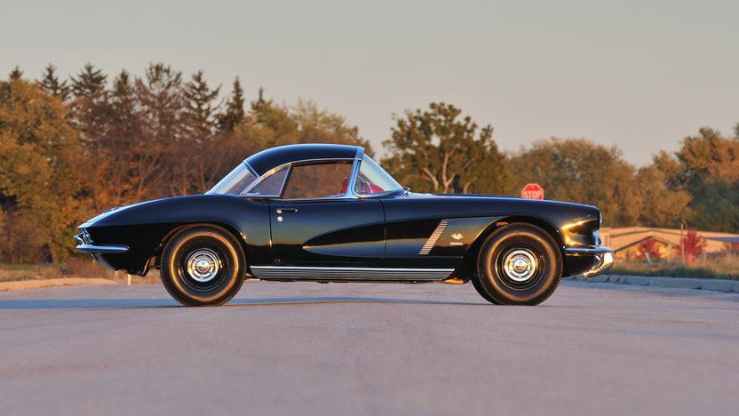 1962 Chevrolet Corvette Big Brake Tanker 327/360 HP, 24K Gold, Triple Crown presented as lot F245 at Kissimmee, FL 2013 - image3