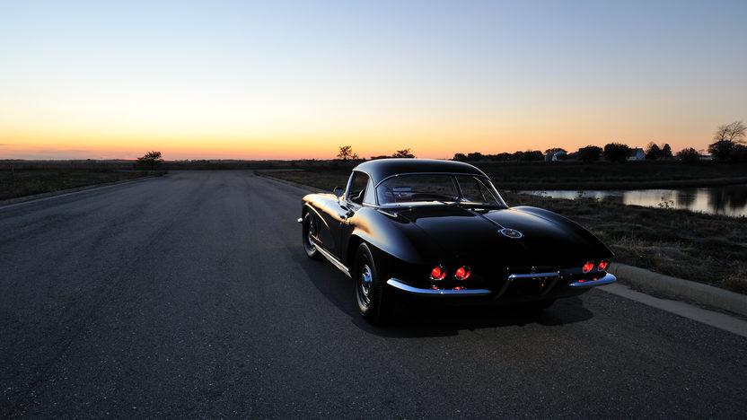 1962 Chevrolet Corvette Big Brake Tanker 327/360 HP, 24K Gold, Triple Crown presented as lot F245 at Kissimmee, FL 2013 - image9