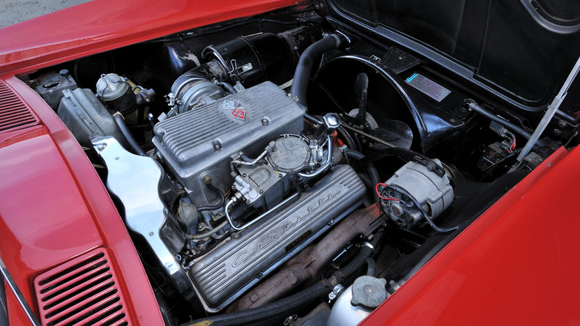 1964 Chevrolet Corvette Convertible 327/375 HP, All Original presented as lot F247 at Kissimmee, FL 2013 - image7