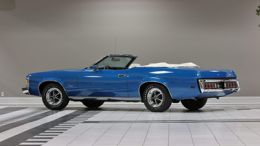 1973 Mercury Cougar XR7 Convertible 351/264 HP, Rotisserie Restoration presented as lot F262 at Kissimmee, FL 2013 - image2