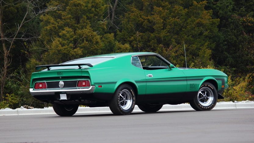 1971 Ford Mustang Mach 1 Fastback 429/370 HP, Automatic presented as lot F263 at Kissimmee, FL 2013 - image2