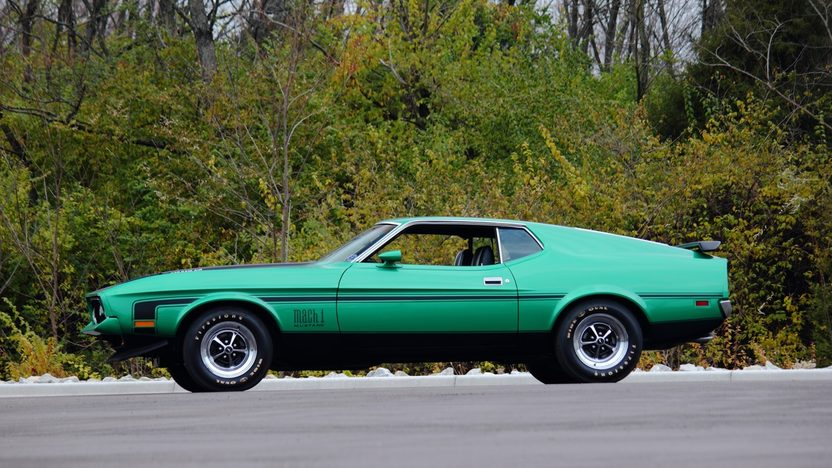1971 Ford Mustang Mach 1 Fastback 429/370 HP, Automatic presented as lot F263 at Kissimmee, FL 2013 - image4