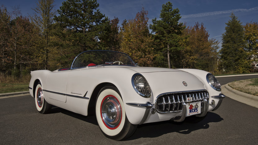 1954 Chevrolet Corvette Roadster NCRS Top Flight Award presented as lot F274 at Kissimmee, FL 2013 - image11
