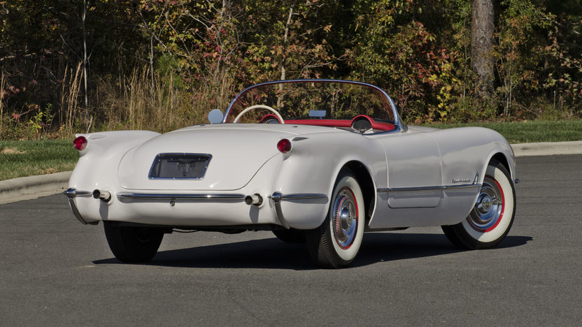 1954 Chevrolet Corvette Roadster NCRS Top Flight Award presented as lot F274 at Kissimmee, FL 2013 - image2