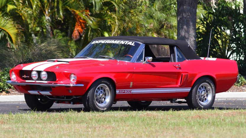 1967 Ford Mustang Convertible Shelby EXP 500 Replica presented as lot F301 at Kissimmee, FL 2013 - image12