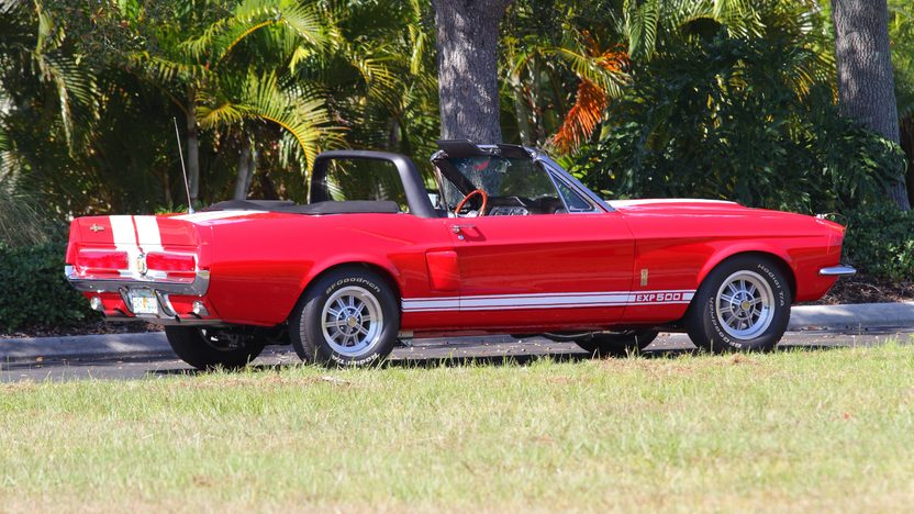 1967 Ford Mustang Convertible Shelby EXP 500 Replica presented as lot F301 at Kissimmee, FL 2013 - image3