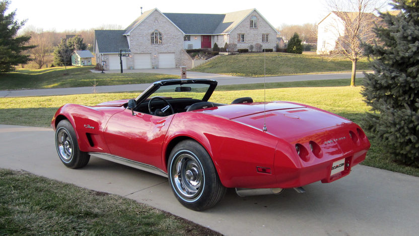 1974 Chevrolet Corvette Convertible 454/270 HP, 4-Speed presented as lot F331 at Kissimmee, FL 2013 - image2