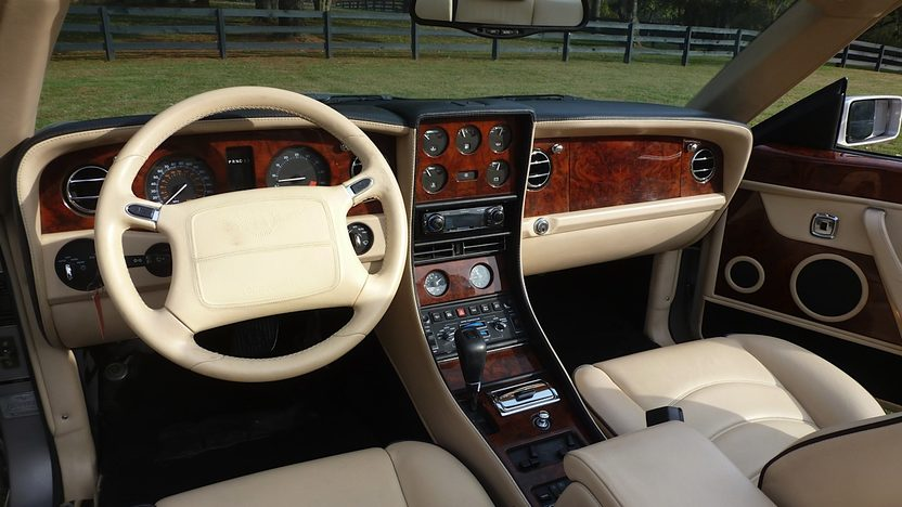 2001 Bentley Azure Convertible 6.75/620 HP, Automatic presented as lot S27 at Kissimmee, FL 2013 - image4