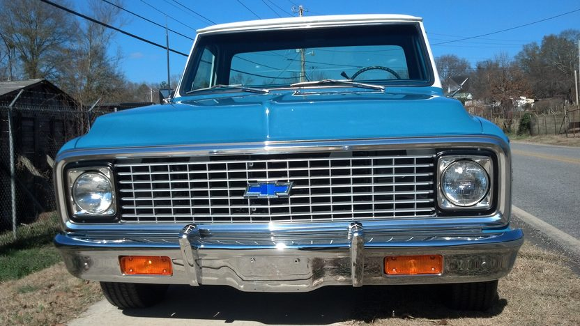 1972 Chevrolet Cheyenne Pickup 350/350 HP, Automatic presented as lot S37 at Kissimmee, FL 2013 - image9