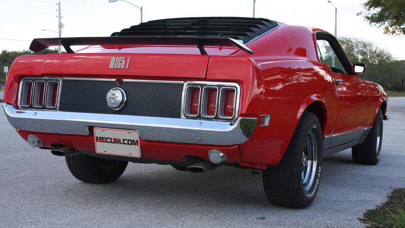1970 Ford Mustang Mach 1 428 CJ, Automatic presented as lot S38 at Kissimmee, FL 2013 - image2