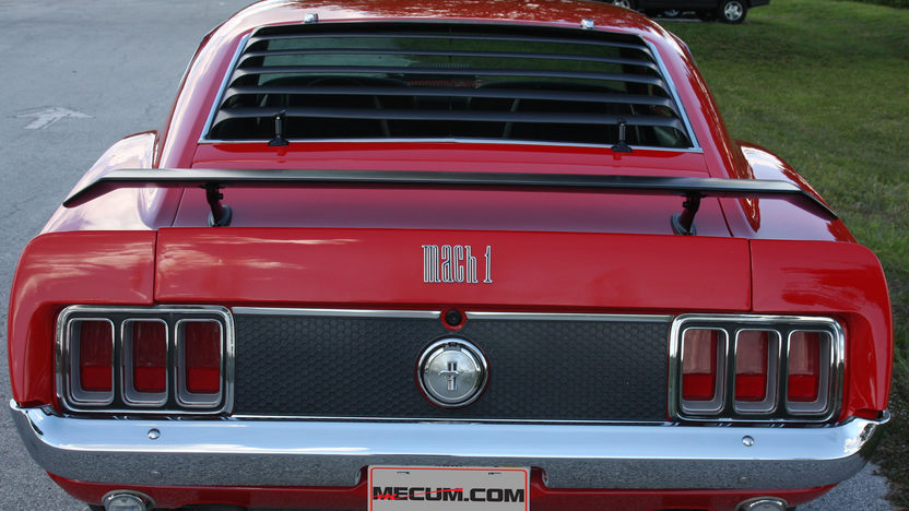 1970 Ford Mustang Mach 1 428 CJ, Automatic presented as lot S38 at Kissimmee, FL 2013 - image5