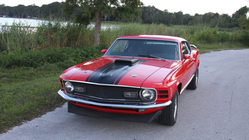 1970 Ford Mustang Mach 1 428 CJ, Automatic presented as lot S38 at Kissimmee, FL 2013 - image7