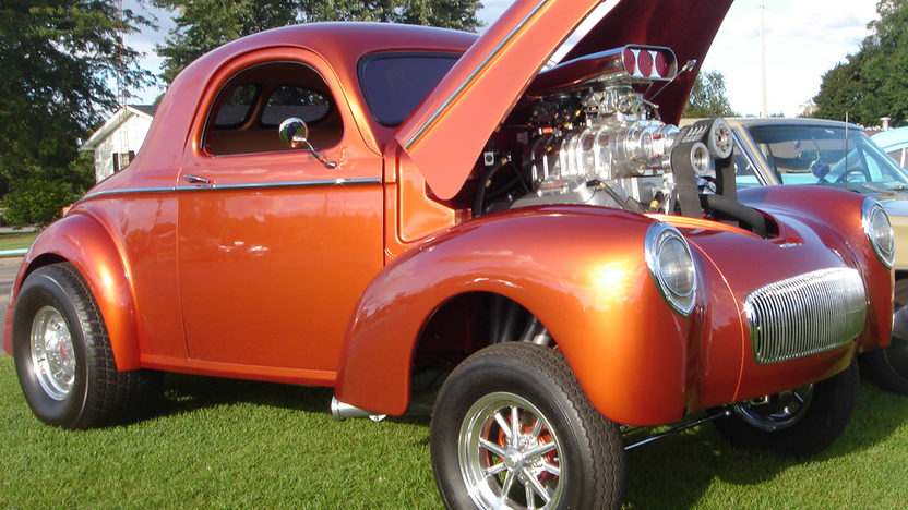 1941 Willys Gasser Coupe Donovan 1100 HP Engine presented as lot S57 at Kissimmee, FL 2013 - image3