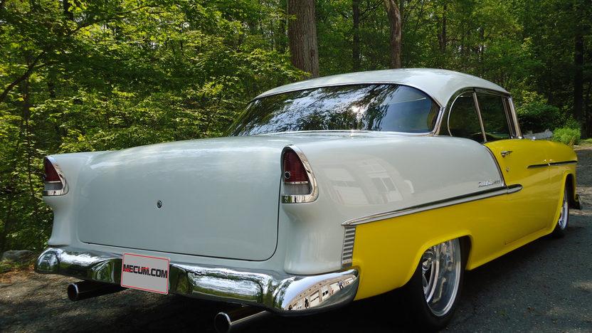 1955 Chevrolet Bel Air Hardtop Rotisserie Restoration presented as lot S63 at Kissimmee, FL 2013 - image2