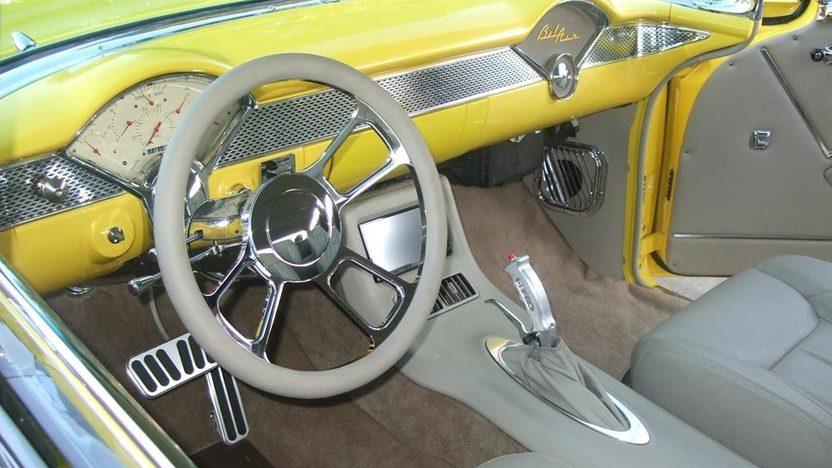1955 Chevrolet Bel Air Hardtop Rotisserie Restoration presented as lot S63 at Kissimmee, FL 2013 - image3