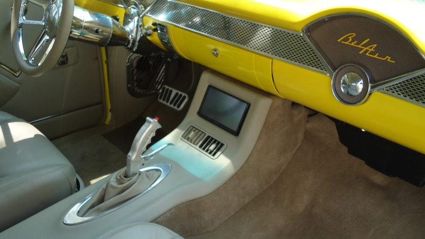 1955 Chevrolet Bel Air Hardtop Rotisserie Restoration presented as lot S63 at Kissimmee, FL 2013 - image4