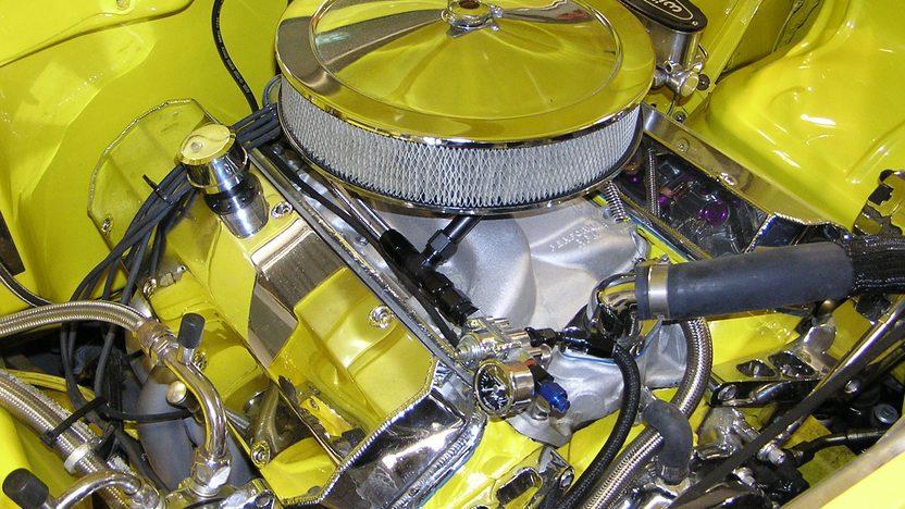 1955 Chevrolet Bel Air Hardtop Rotisserie Restoration presented as lot S63 at Kissimmee, FL 2013 - image6