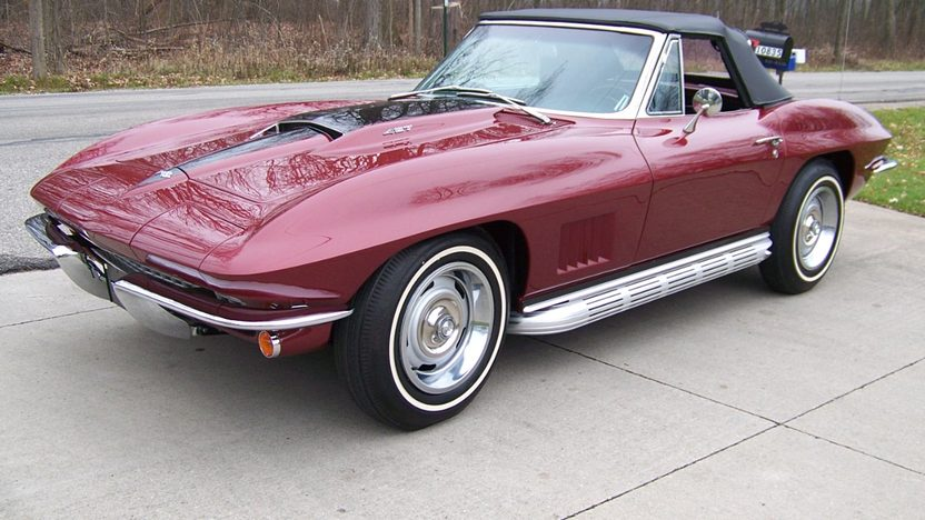 1967 Chevrolet Corvette Convertible 427/390 HP, 4-Speed presented as lot S67 at Kissimmee, FL 2013 - image6