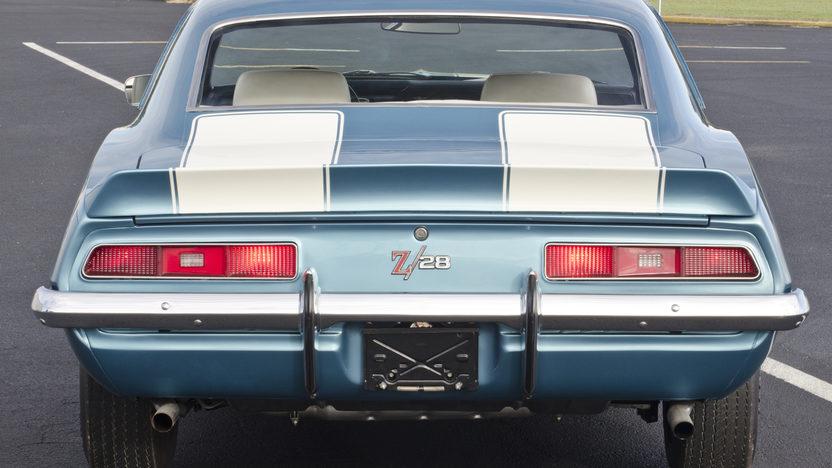 1969 Chevrolet Camaro Z28 JL8 Brakes, Cross Ram Dual Quads presented as lot S98 at Kissimmee, FL 2013 - image12