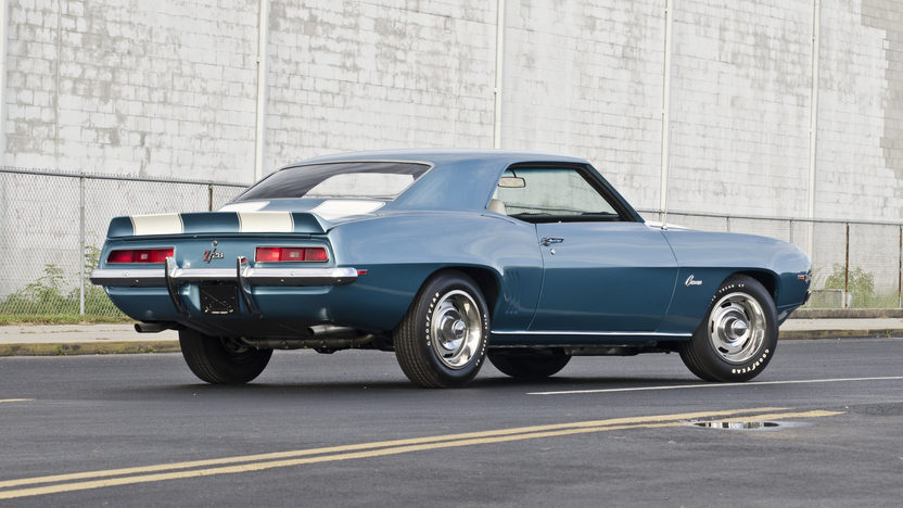 1969 Chevrolet Camaro Z28 JL8 Brakes, Cross Ram Dual Quads presented as lot S98 at Kissimmee, FL 2013 - image2