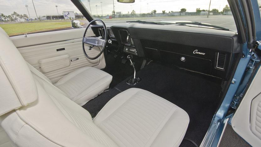 1969 Chevrolet Camaro Z28 JL8 Brakes, Cross Ram Dual Quads presented as lot S98 at Kissimmee, FL 2013 - image5