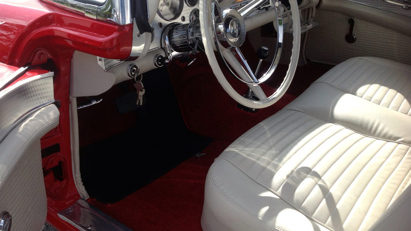 1957 Ford Thunderbird E-Code 312 CI presented as lot S103 at Kissimmee, FL 2013 - image4