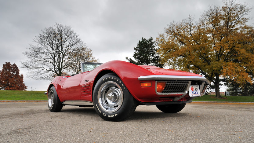 1972 Chevrolet Corvette LT1 Convertible 4-Speed, Factory Air, NCRS Top Flight presented as lot S125 at Kissimmee, FL 2013 - image12