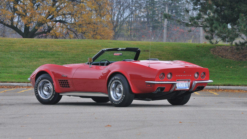 1972 Chevrolet Corvette LT1 Convertible 4-Speed, Factory Air, NCRS Top Flight presented as lot S125 at Kissimmee, FL 2013 - image2
