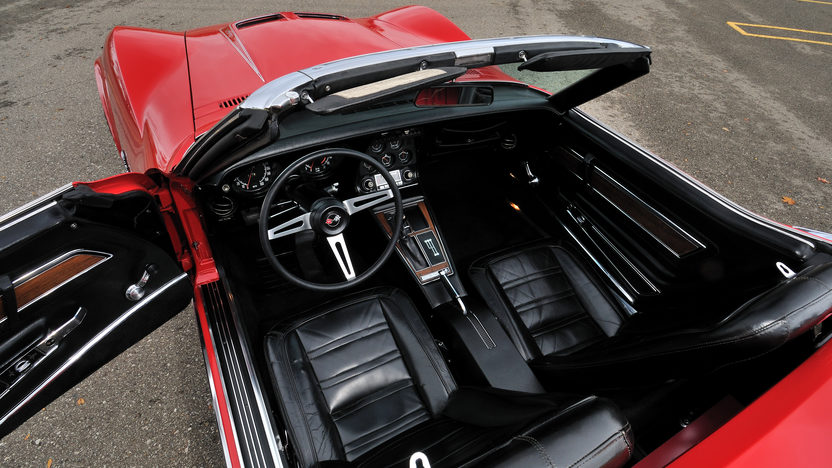 1972 Chevrolet Corvette LT1 Convertible 4-Speed, Factory Air, NCRS Top Flight presented as lot S125 at Kissimmee, FL 2013 - image4