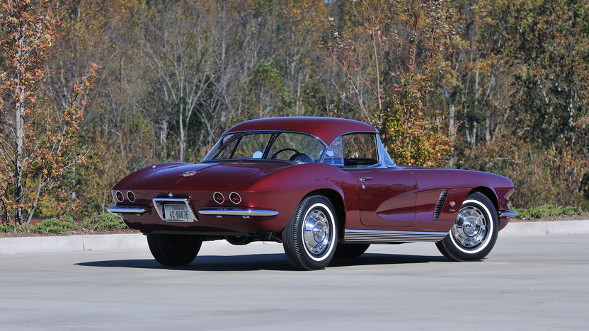1962 Chevrolet Corvette Convertible 327/360 HP, 4-Speed presented as lot S126 at Kissimmee, FL 2013 - image2