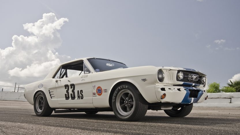 1966 Ford Mustang SCCA Group 2 A/Sedan Racer #12 of Only 16 Produced presented as lot S132 at Kissimmee, FL 2013 - image2