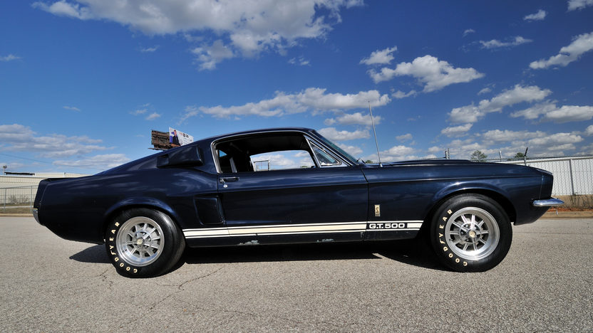 1967 Shelby GT500 Fastback Original and Unrestored presented as lot S139 at Kissimmee, FL 2013 - image11