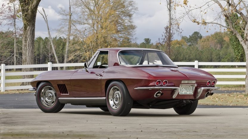 1967 Chevrolet Corvette Convertible 427/435 HP, Bloomington Gold Benchmark presented as lot S145 at Kissimmee, FL 2013 - image2