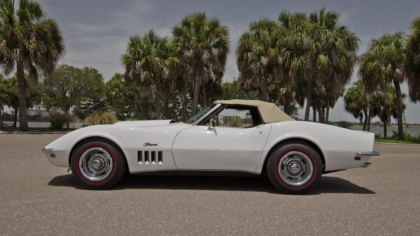 1969 Chevrolet Corvette L88 Convertible 427/430 HP, J56 Brakes, Bloomington Gold presented as lot S159 at Kissimmee, FL 2013 - image2