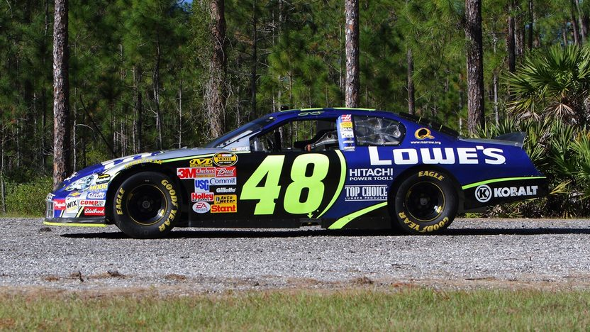 2006 Chevrolet Monte Carlo NASCAR Jimmy Johnson Road Race Car presented as lot S176 at Kissimmee, FL 2013 - image2