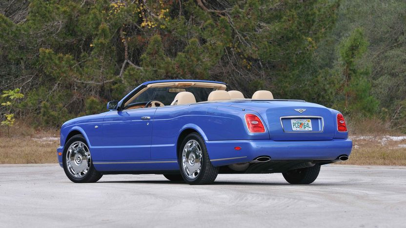 2008 Bentley Azure Convertible Less than 6,000 Miles presented as lot S189 at Kissimmee, FL 2013 - image2