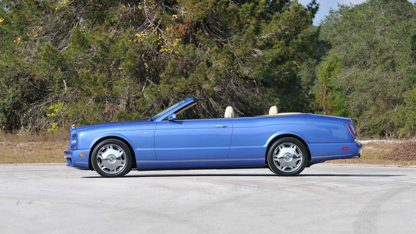 2008 Bentley Azure Convertible Less than 6,000 Miles presented as lot S189 at Kissimmee, FL 2013 - image3
