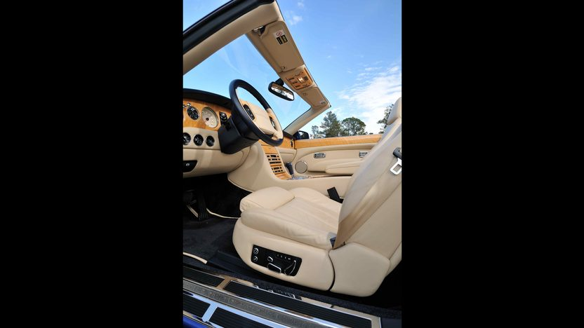 2008 Bentley Azure Convertible Less than 6,000 Miles presented as lot S189 at Kissimmee, FL 2013 - image5