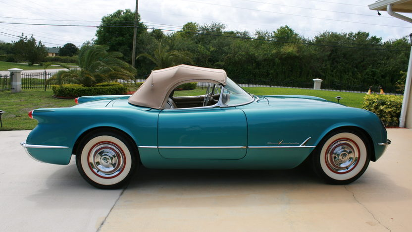 1955 Chevrolet Corvette Roadster 265 CI, Rare Color presented as lot S193 at Kissimmee, FL 2013 - image5
