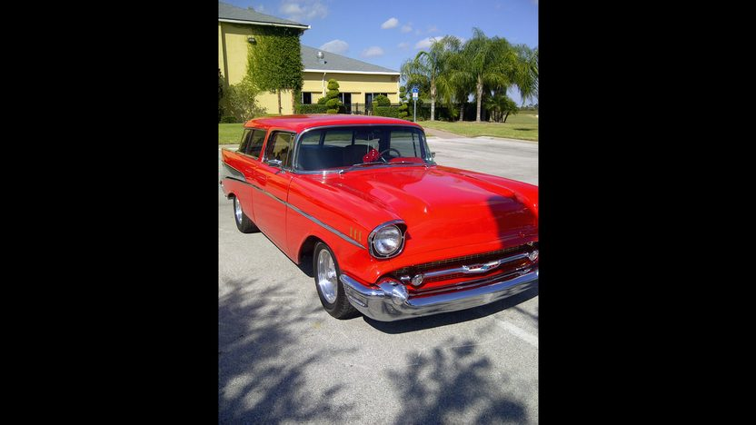 1957 Chevrolet Nomad Resto Mod 500 HP, Automatic presented as lot S205 at Kissimmee, FL 2013 - image2
