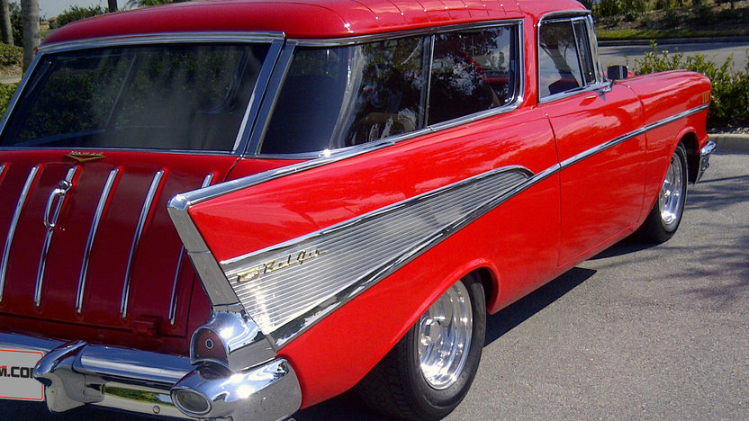 1957 Chevrolet Nomad Resto Mod 500 HP, Automatic presented as lot S205 at Kissimmee, FL 2013 - image3