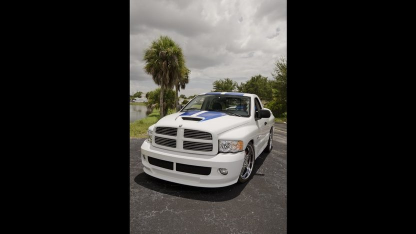 2005 Dodge Ram SRT/10 Pickup Supercharged V-10, SEMA Truck presented as lot S207 at Kissimmee, FL 2013 - image2